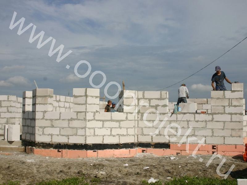 Размеры пеноблоков для строительства дома