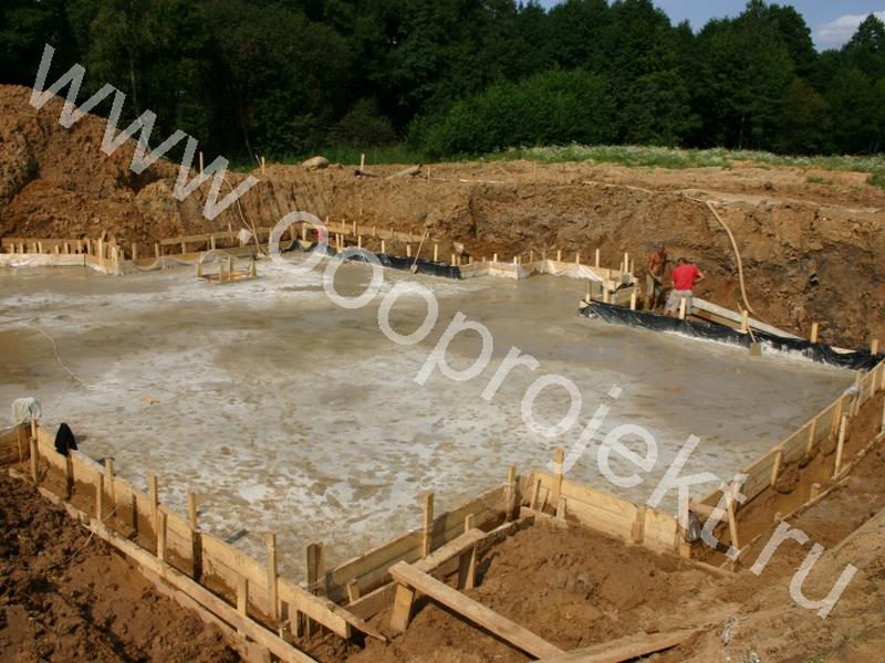 Подготовка под фундаментную плиту