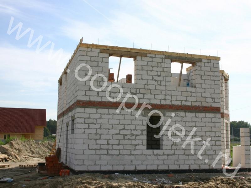 Строительство коттеджей из пеноблоков