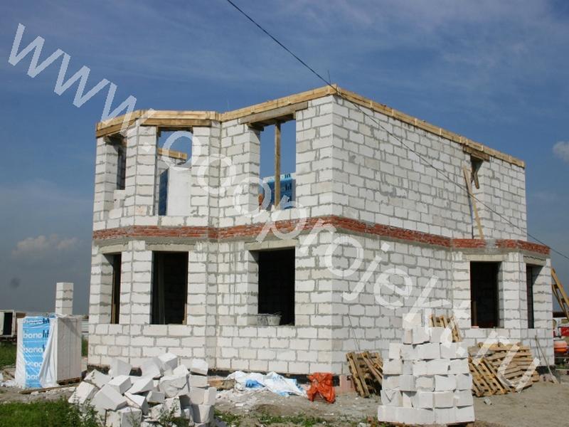 Строительство коттеджей из блоков