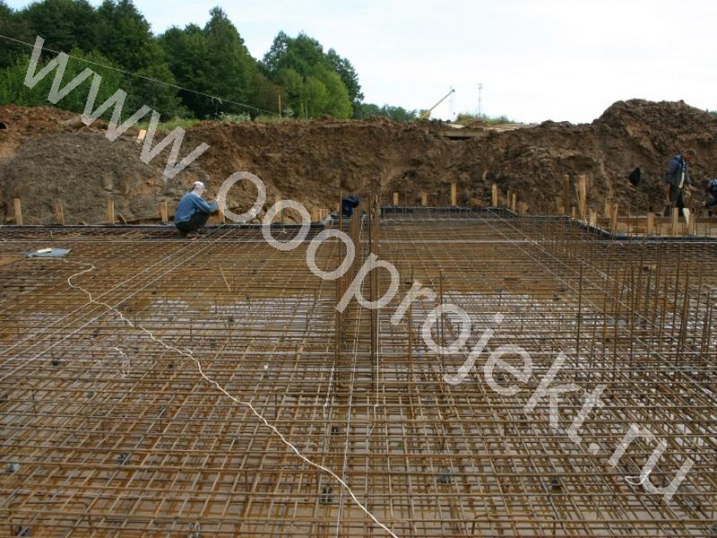 Строительство домов на склоне