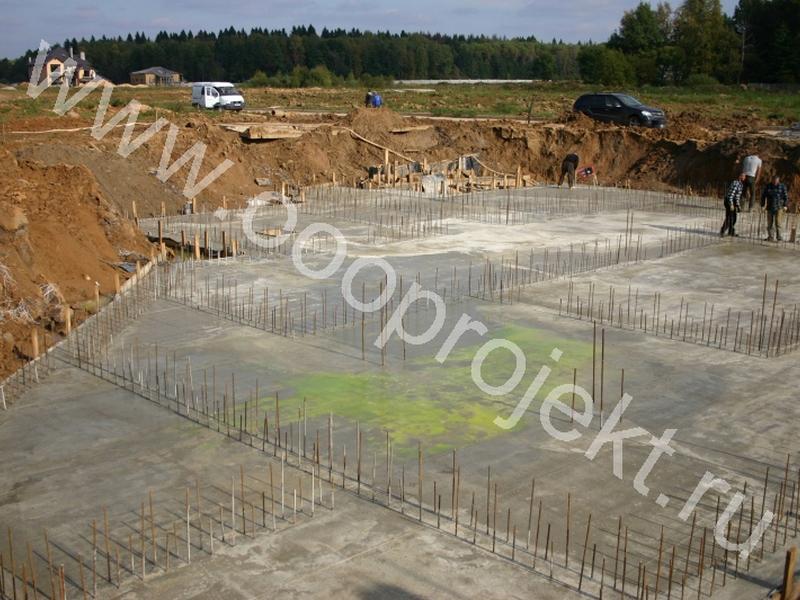 Плита бетонная фундаментная