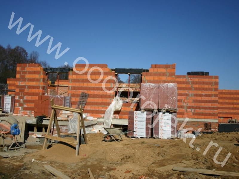 Строительство монолитно-кирпичных домов