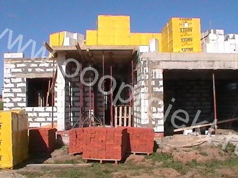 Строительство коттеджей из газосиликатных блоков