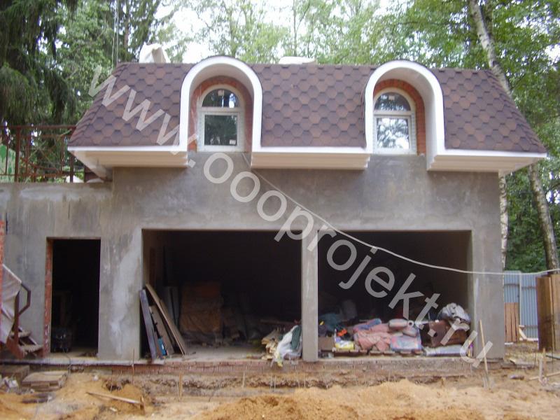 Стоимость строительства дома с мансардой