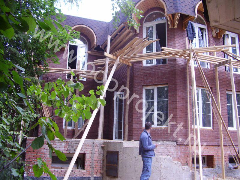 Строительство дома из поризованных блоков