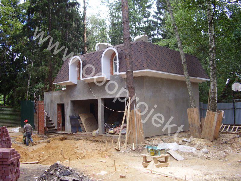 Строительство домов с гаражом