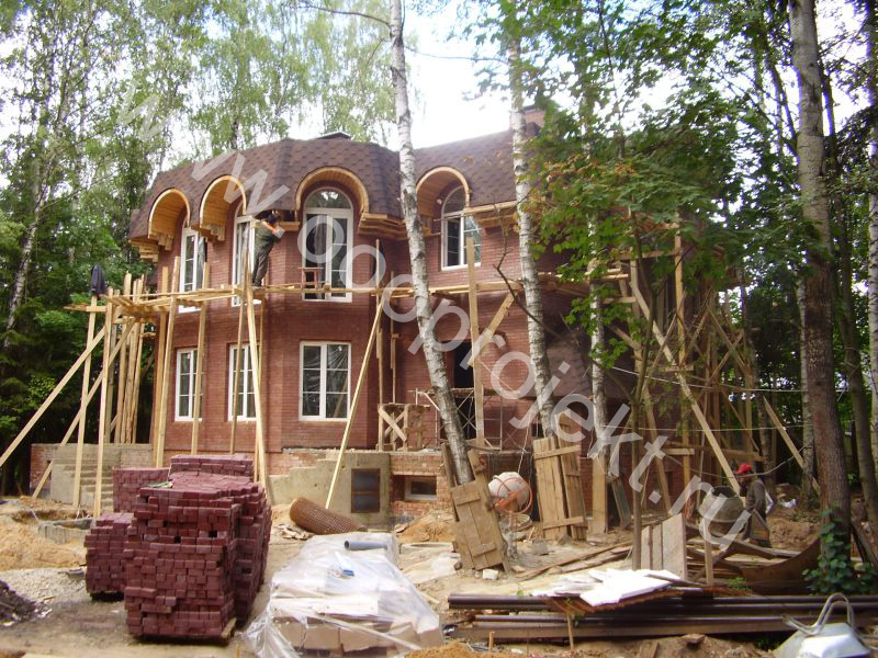 Строительство загородного дома, цена