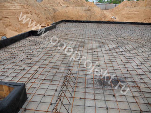 Плиты под фундаментные блоки