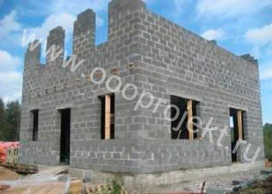 Строительство дома из шлакоблока