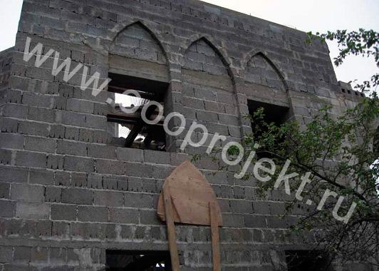 Дачный дом из керамзитобетонных блоков